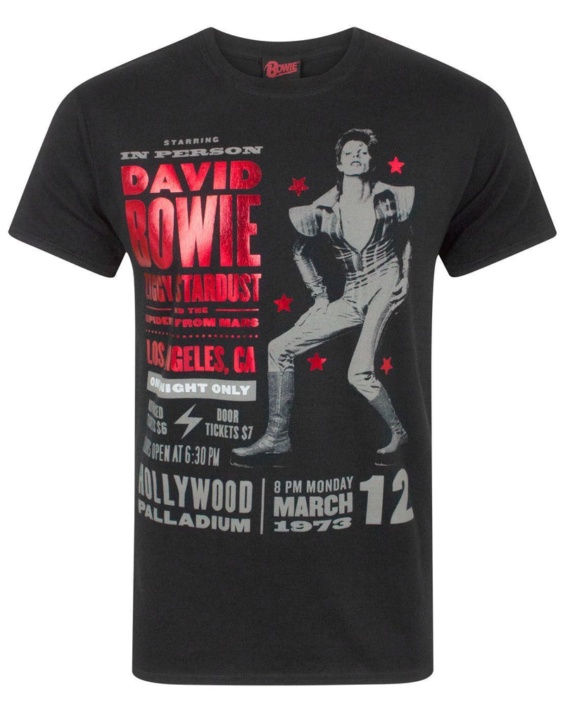 David Bowie Ziggy Stardust 1973 Men's T-Shirt
