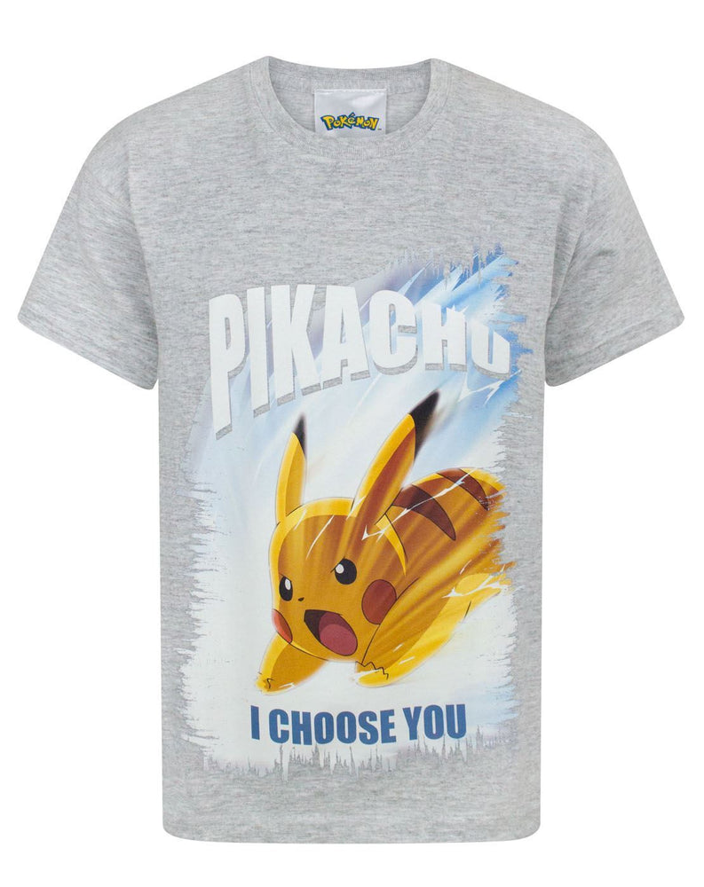 Pokemon I Choose You Boy's T-Shirt