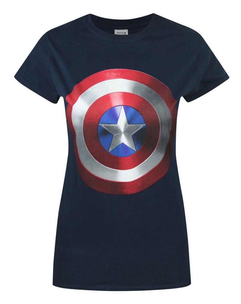 Captain America Movie Shield Women's T-Shirt