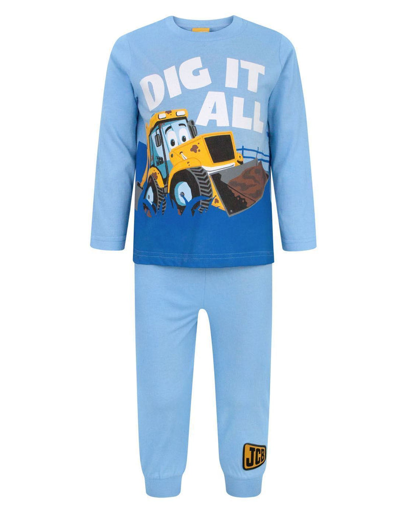 JCB Dig It All Boy's Pyjamas