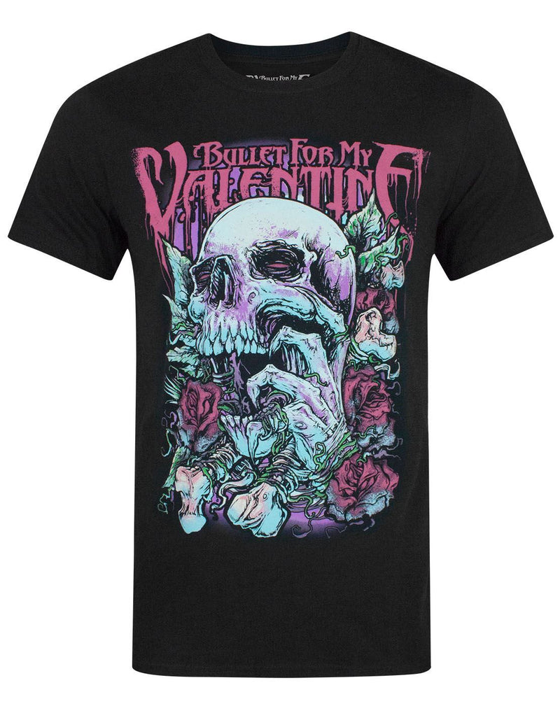 Bullet For My Valentine Red Eye Skull Men's T-Shirt