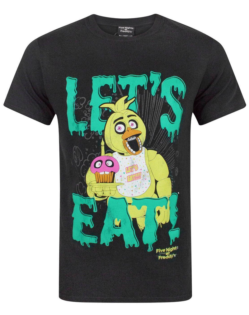Five Nights At Freddy's Let's Eat Men's T-Shirt
