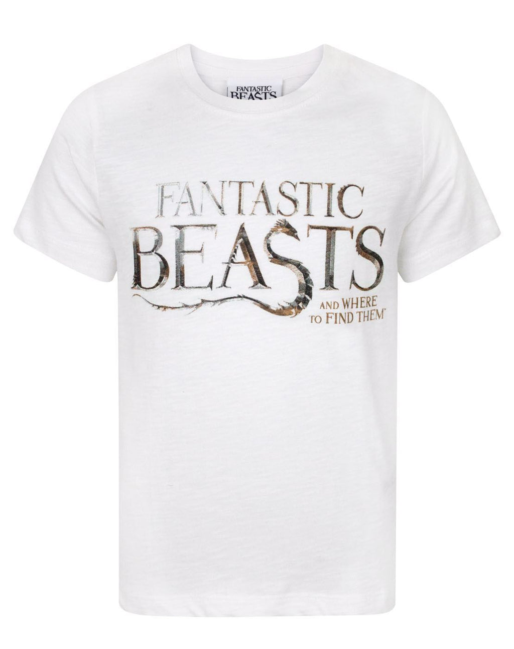 Fantastic Beasts And Where To Find Them Logo Boy's T-Shirt