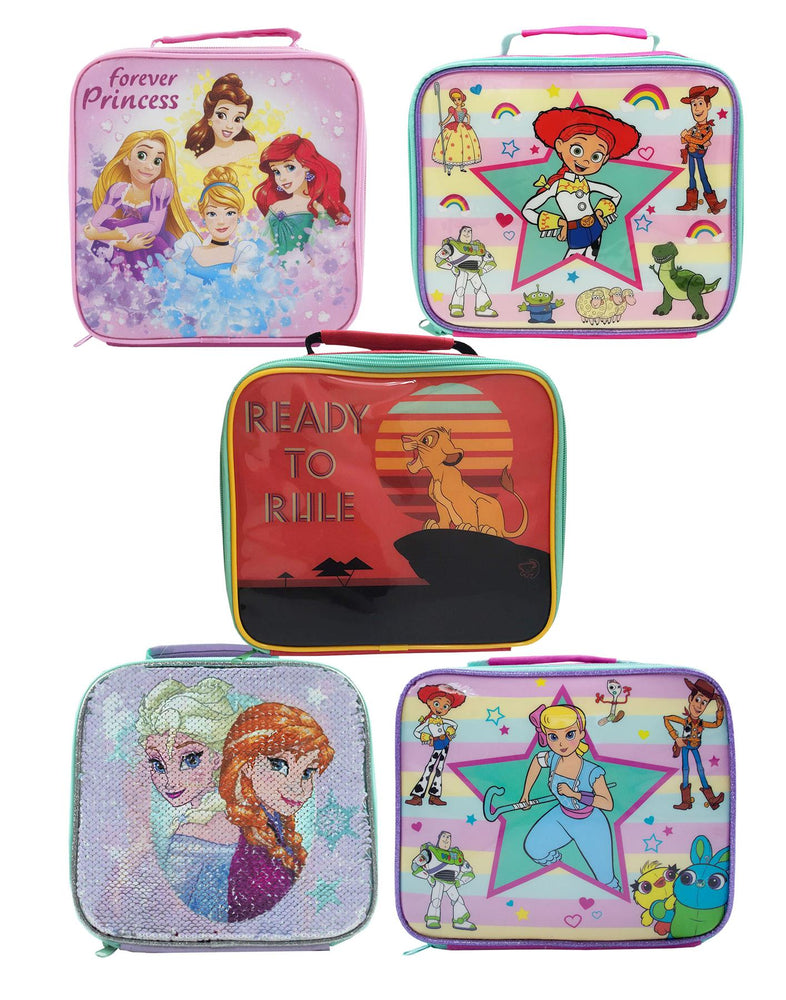Shop Disney Toy Story Frozen Lion King Princess Girls Lunch Box Container Various
