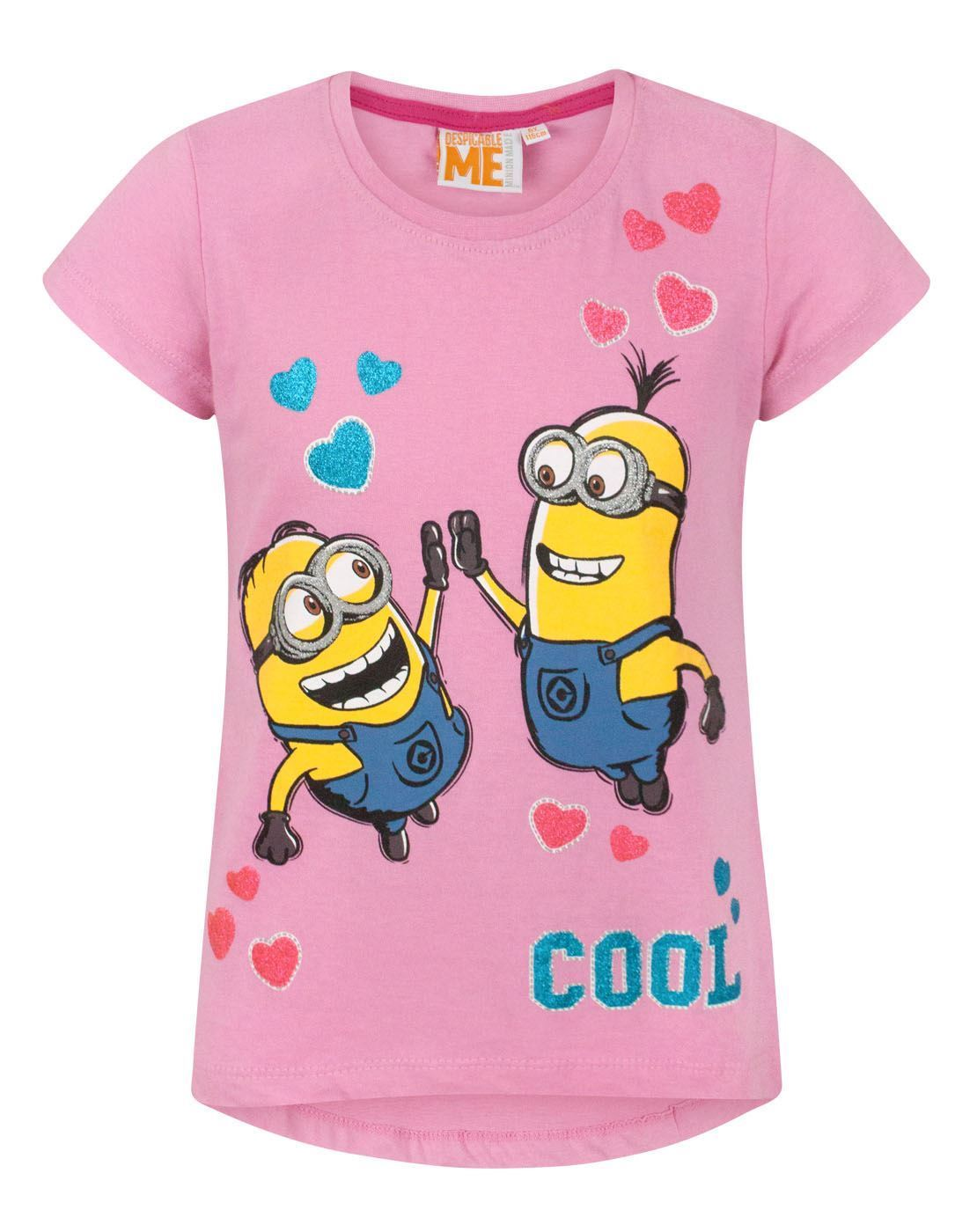 eb228a910 Despicable Me Cool Girl's T-Shirt – Vanilla Underground
