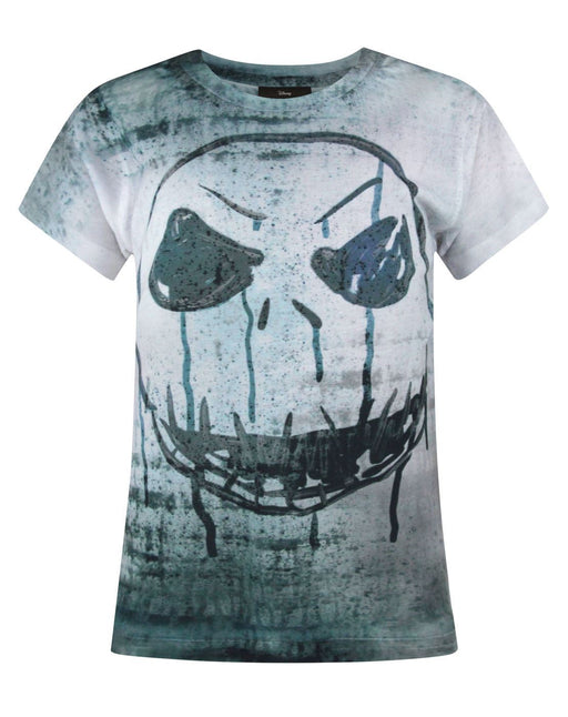 Nightmare Before Christmas Jack Skellington Face Sublimation Girl's T-Shirt