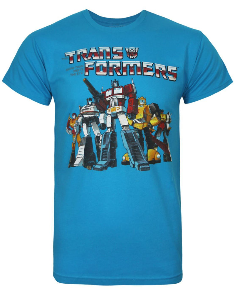 Goodie Two Sleeves Autobot Crew Men's T-Shirt