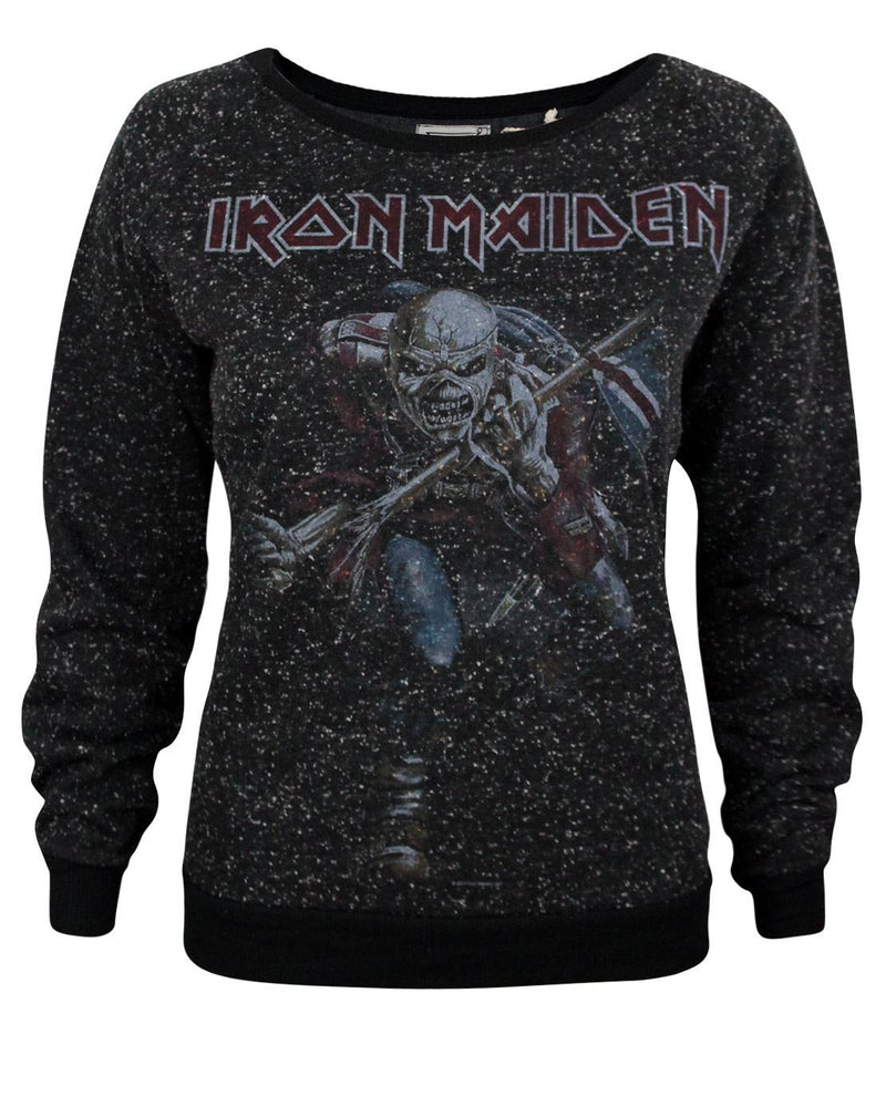 Amplified Iron Maiden Trooper 2 Women's Sweater