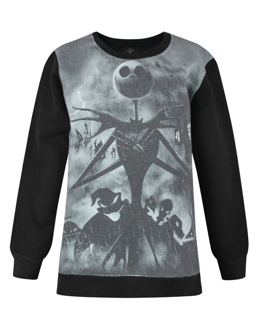 Nightmare Before Christmas Sublimation Girl's Sweatshirt