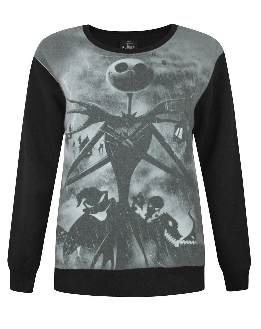 Nightmare Before Christmas Sublimation Women's Sweater