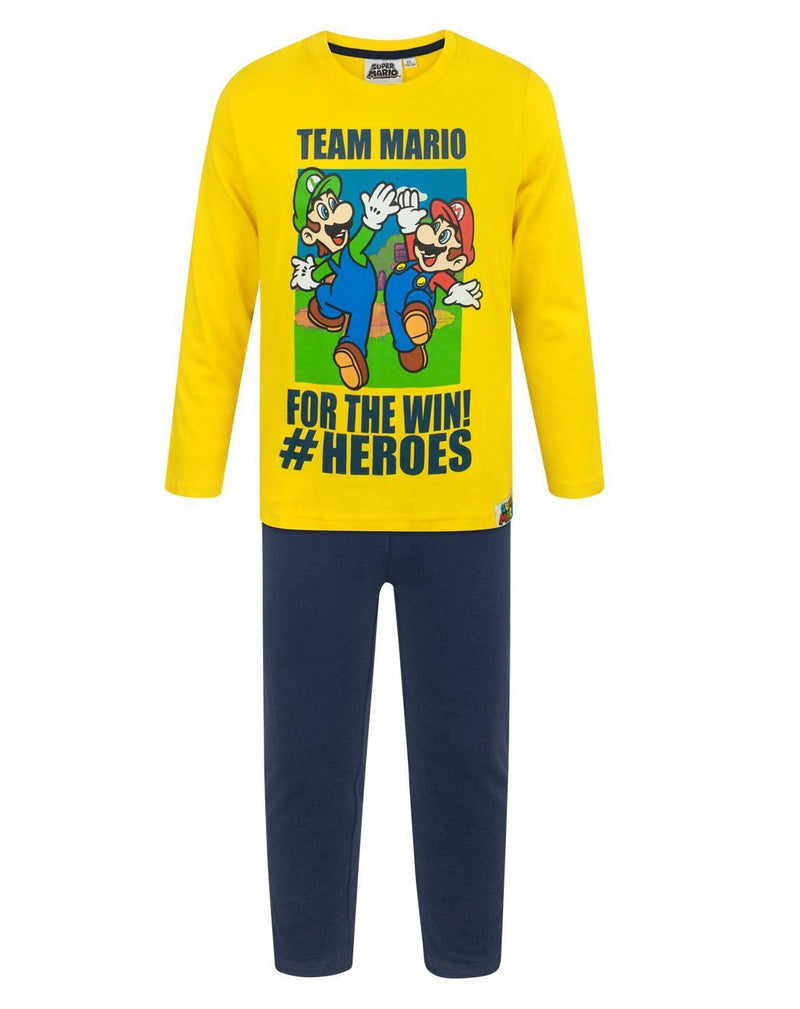Super Mario Team Mario Boy's Pyjamas