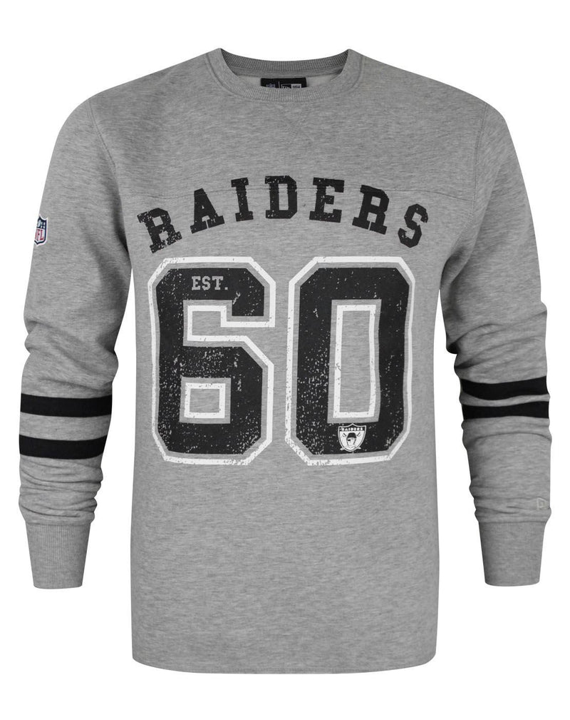New Era NFL Oakland Raiders Vintage Number Men's Sweater