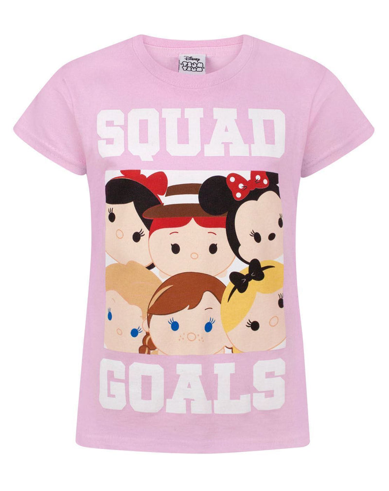 Disney Tsum Tsum Squad Goals Girl's T-Shirt
