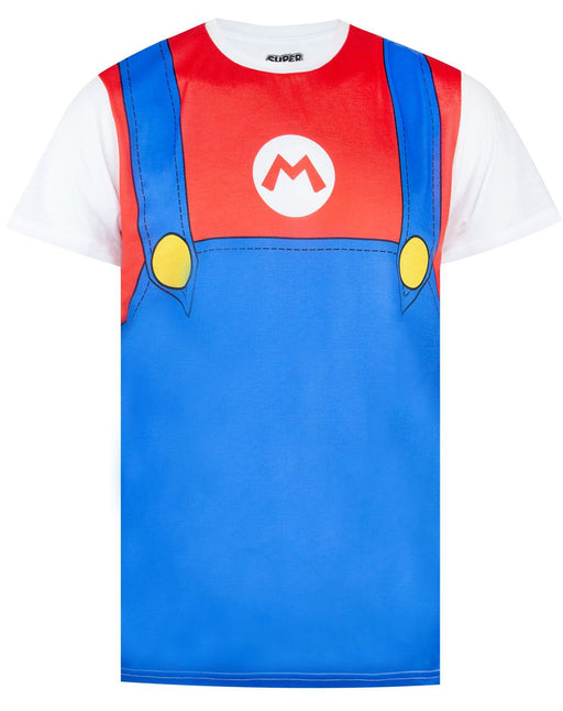 Super Mario Costume Mens T-shirt