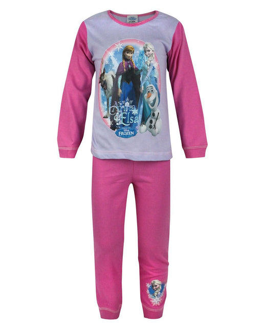 Frozen Anna And Elsa Girl's Pyjamas
