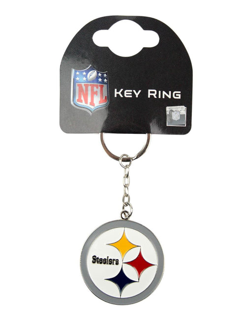 NFL Pittsburgh Steelers Crest Keyring