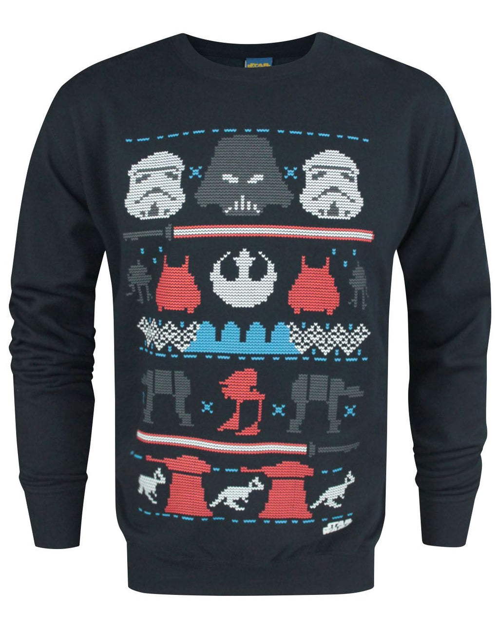 Star Wars Dark Side Fair Isle Christmas Men's Sweater