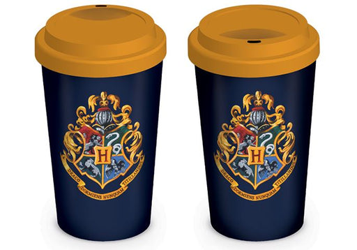 Harry Potter Hogwarts Crest Travel 12oz Mug