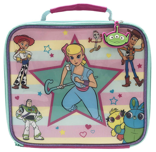 Toy Story Bo Peep character Insulated Compartment Zip Lunch Bag