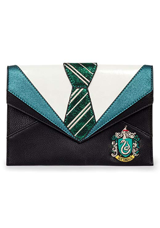 Danielle Nicole Harry Potter Slytherin Uniform Clutch Bag