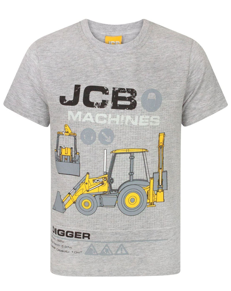 JCB Machines Digger Boy's T-Shirt