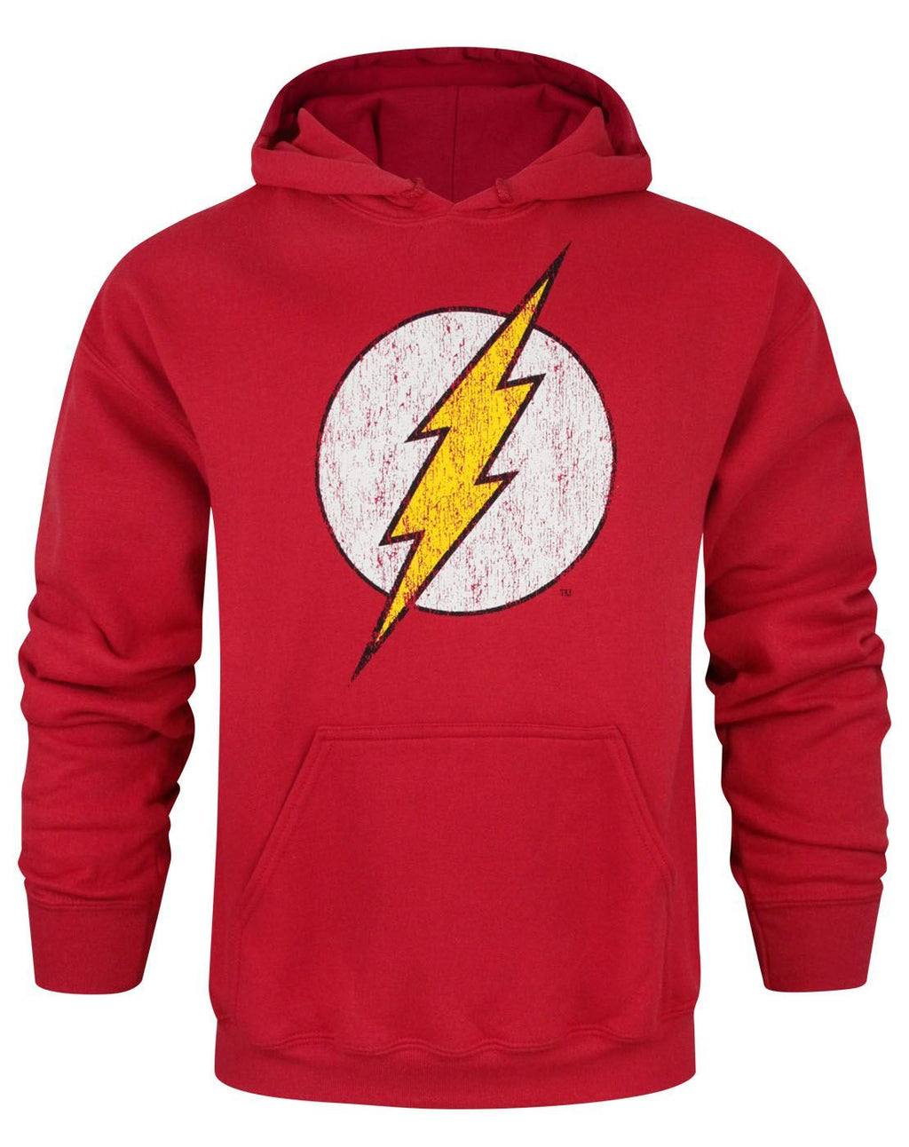 Flash Distressed Logo Men's Hoodie