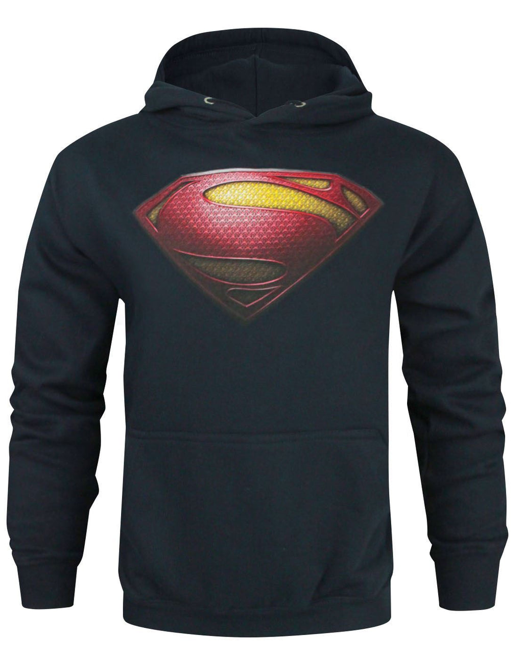 Superman Man Of Steel Logo Men's Hoodie