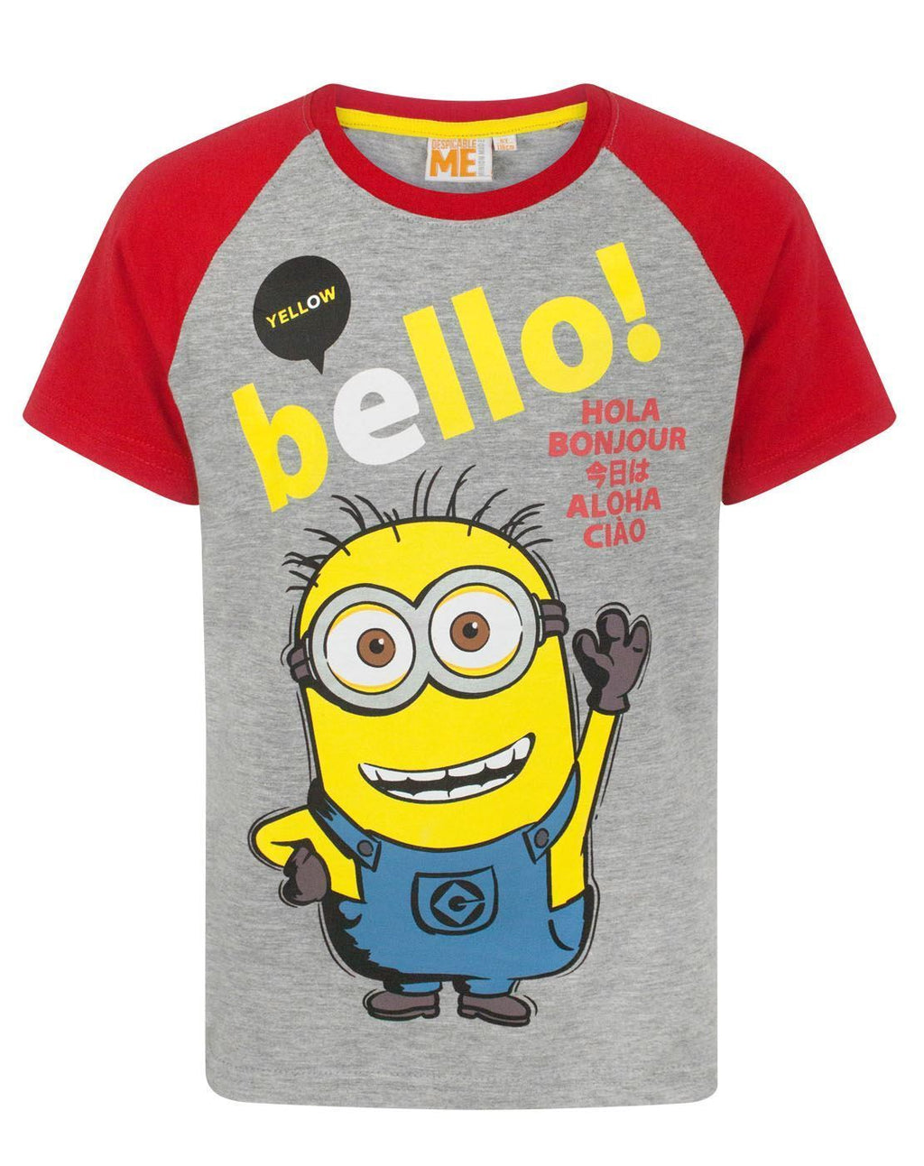 Despicable Me Yellow Bello Minion Boy's T-Shirt