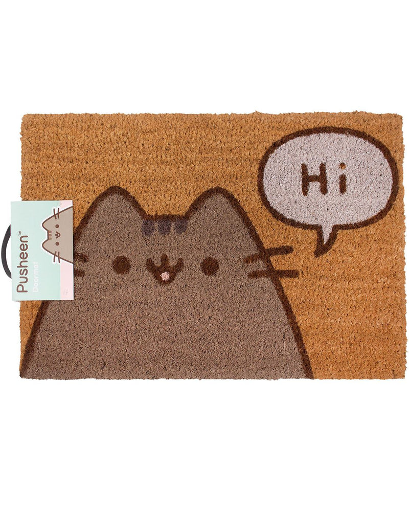 Pusheen The Cat Says Hi Door Mat 40 x 60 x 1.3cm