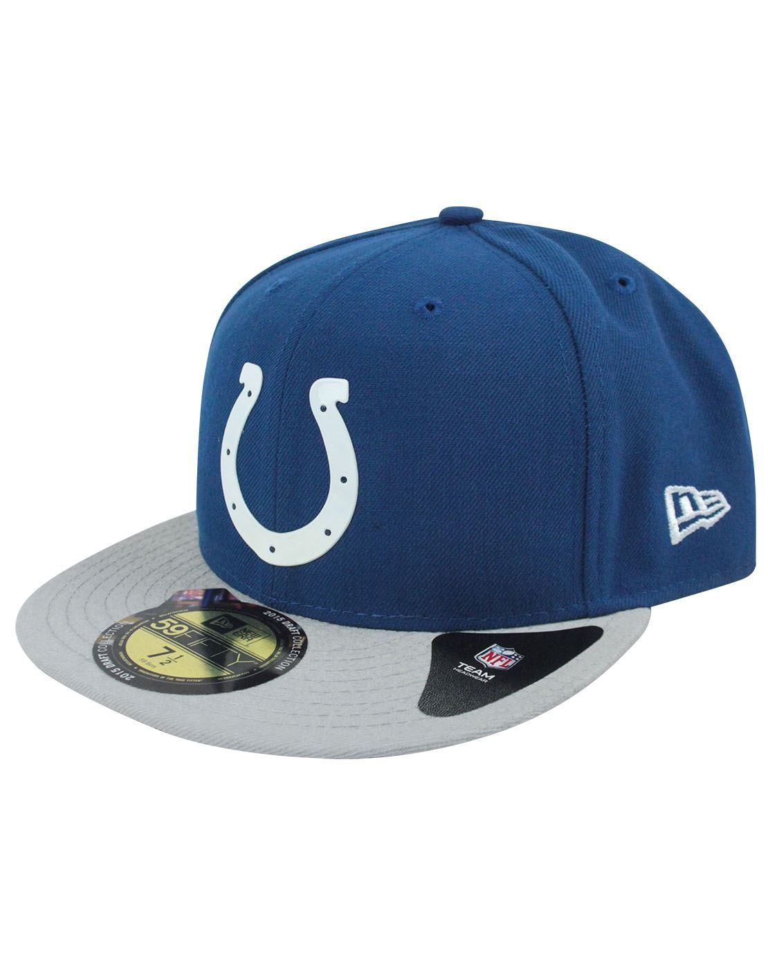 9eb33b8fa81 New Era 59Fifty NFL Indianapolis Colts Draft Cap – Vanilla Underground