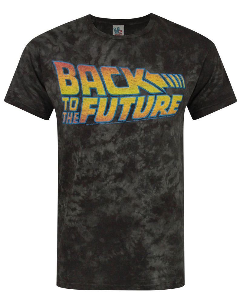 Junk Food Back To The Future Marble Men's T-Shirt