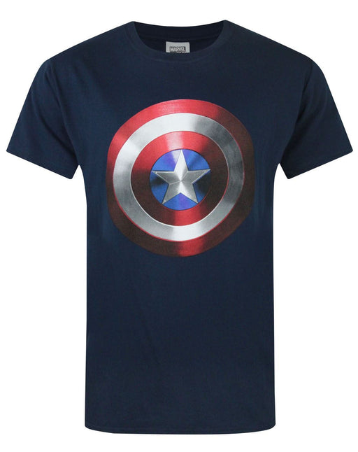 Captain America Movie Shield Men's T-Shirt