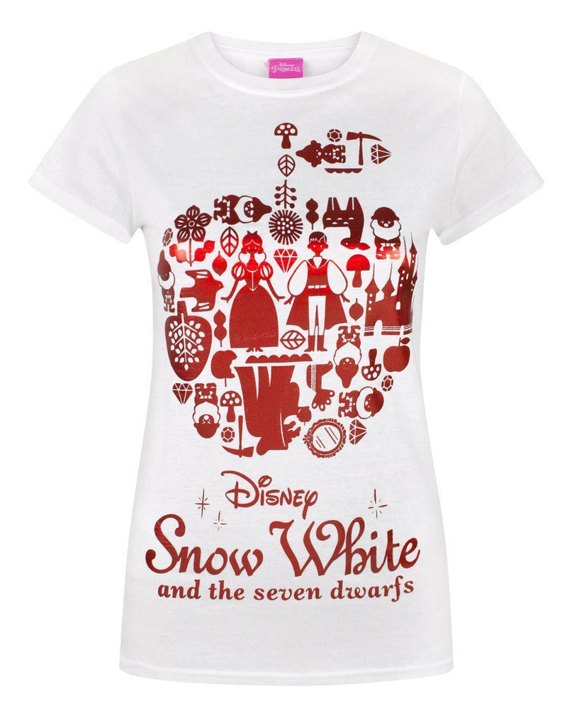 Disney Snow White Red Foil Women's T-Shirt
