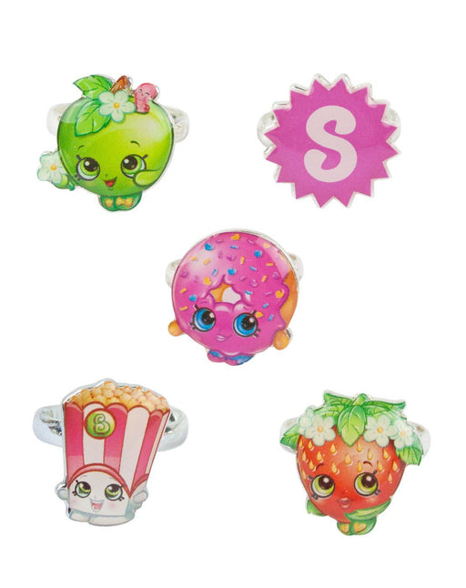 Shopkins Ring Set