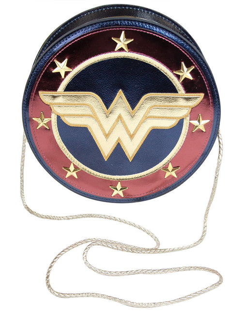 Wonder Woman Shield Crossbody Bag