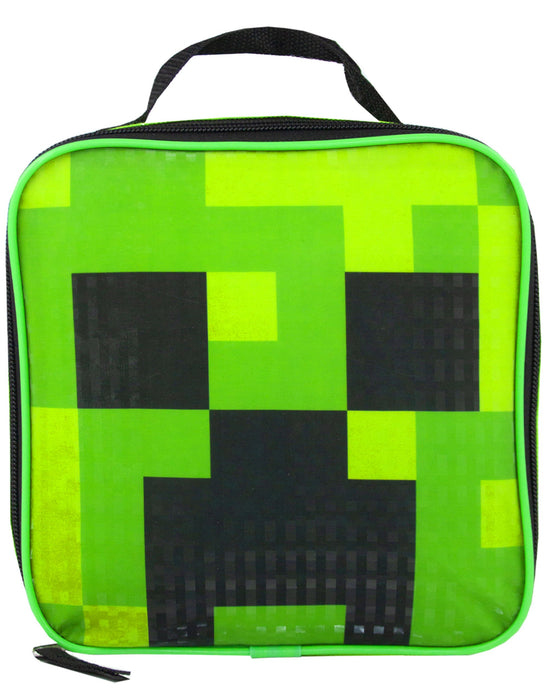 Minecraft Creeper & TNT 5 Piece Backpack Set