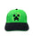 Minecraft Creeper Face Boys/Youth Snapback Baseball Cap