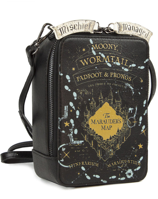 Danielle Nicole Harry Potter Marauders Map Glow In The Dark Crossbody Bag