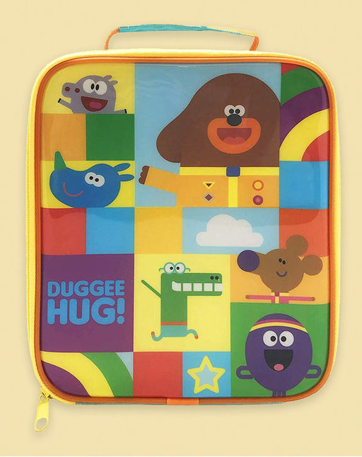 Hey Duggee Characters Kids Multicoloured Lunch Box School Lunch Container Bag