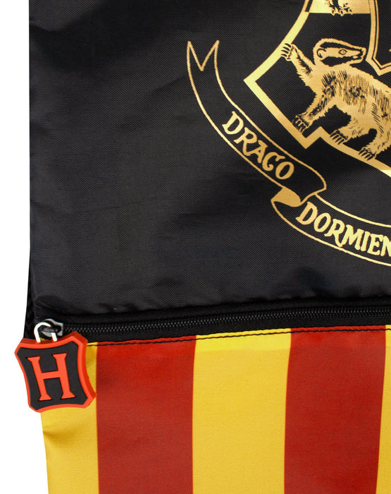 Harry Potter Drawstring BagSchool P.E Gym Trainer BagOfficially Licensed
