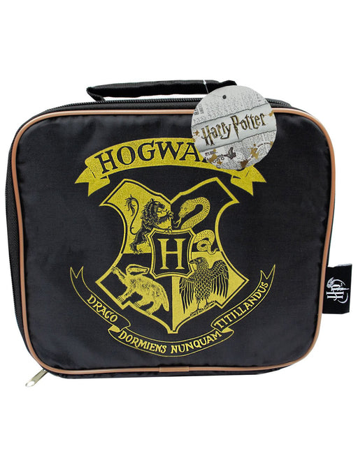 Harry Potter Hogwarts Lunch Box and Letter Pencil Case School Bundle