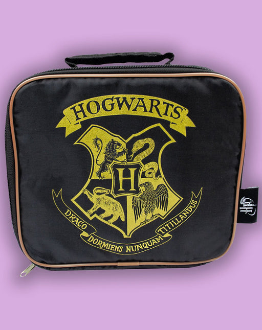 Harry Potter Hogwarts Crest Kids Lunch Box School Food Container Children's Bag