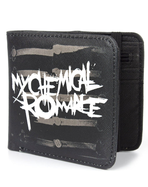 My Chemical Romance The Black Parade 2006 Album Skeletal Drum Major American Rock Band Wallet Money Holder Coins Notes Cards Official Band Merch Unisex Adults Unisex Kids Men's Women's Boys Girls
