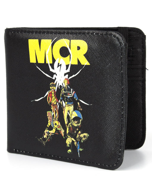 My Chemical Romance Danger Days: The True Lives of the Fabulous Killjoys 2010 Album  American Rock Band Wallet Money Holder Coins Notes Cards Official Band Merch Unisex Adults Unisex Kids Men's Women's Boys Girls