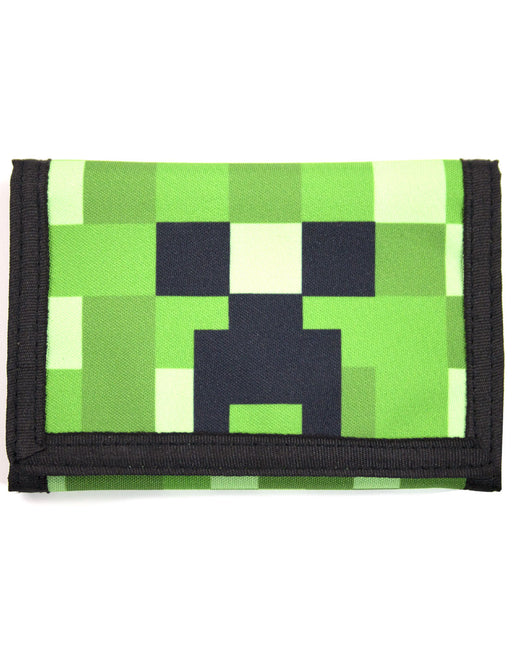 Minecraft Creeper Face Wallet 15cm x 10cm