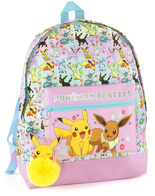 Pokemon Pikachu Eevee Besties Girl's Backpack