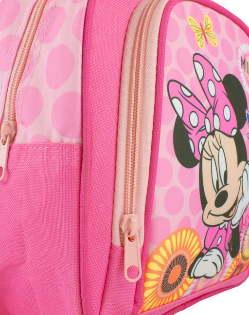 Disney Minnie Mouse Girl's Pink School Backpack