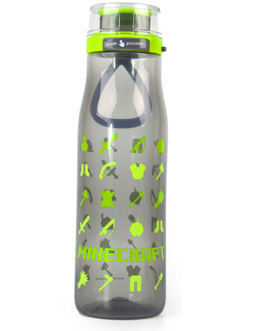 Minecraft Resources Kiona Large 739ml Reusable Sports Water Bottle