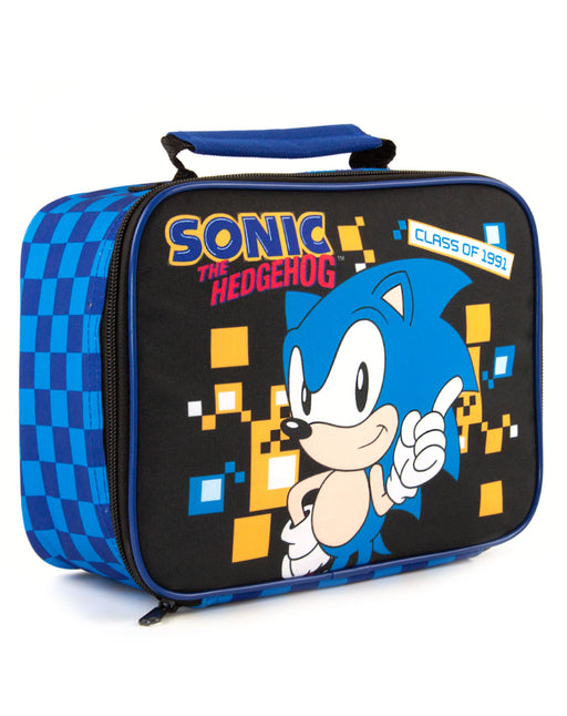 Sonic The Hedgehog Retro Style Gaming Lunch Bag