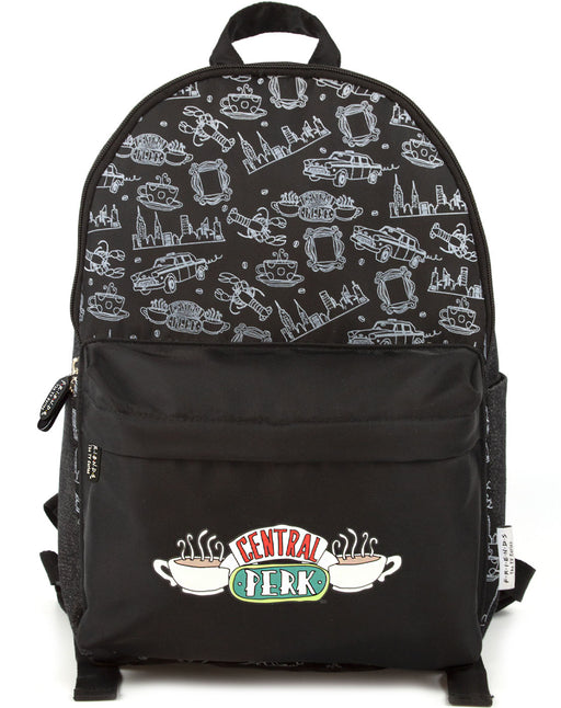 Friends Central Perk Backpack - Black